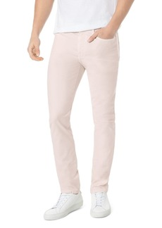 Joe's Jeans Feather Asher Slim Fit Jeans in Pink Sand