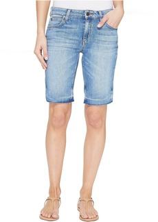 Joe's Jeans Finn Mid-Rise Bermuda Shorts in Yenz