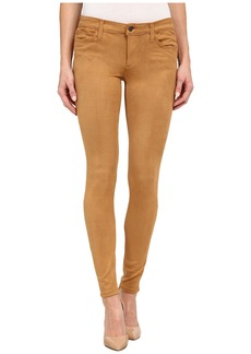 Joe's Jeans Flawless Suede Icon Skinny in Camel