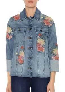 Joe's Jeans Floral Denim Jacket