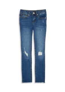 Joe's Jeans Girls' The Markie Mid Rise Skinny Ankle Jeans - Big Kid