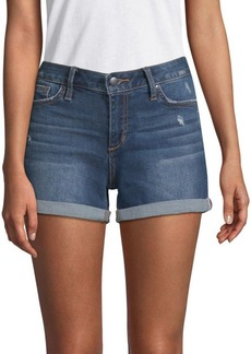 Joe's Jeans Hailey Distressed Denim Shorts
