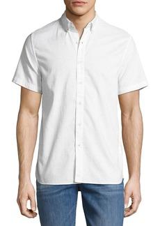 Joe's Jeans Men's Henry Short-Sleeve Slub Shirt