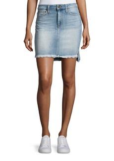 Joe's Jeans High-Low Hem Denim Jean Skirt