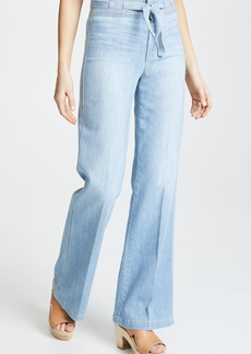Joe's Jeans HR Belted Flare Jeans