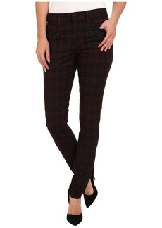 Joe's Jeans In Line Zip Skinny in Coated Red Plaid