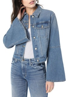 Joe's Jeans Jaclyn Bell Sleeve Denim Jacket
