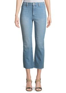 Joe's Jeans Jane High-Rise Straight-Leg Crop Jeans