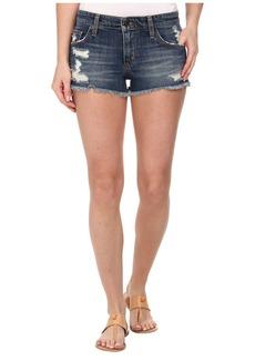 Joe's Jeans Japanese Denim Cut Off Shorts in Meeka