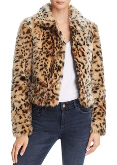 Joe's Jeans Kate Faux Fur Bomber Jacket