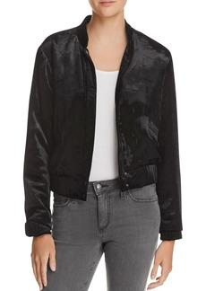 Joe's Jeans Lexi Crop Velvet Jacket
