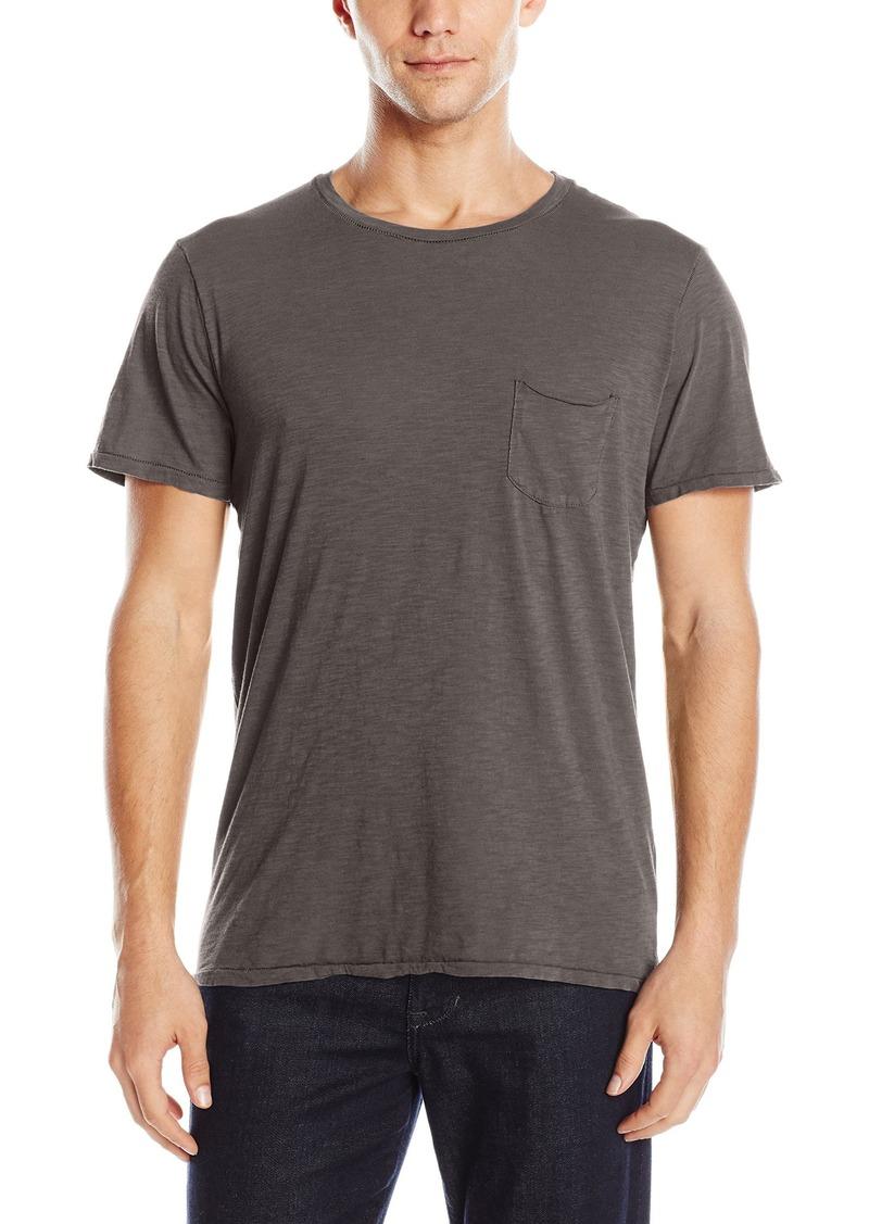 Joe's Jeans Men's Chase Raw Edge Crew Luxe Slub T-Shirt  XXL