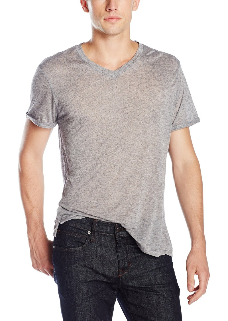 Joe's Jeans Men's Coffman V-Neck Short Sleeve Tee  L