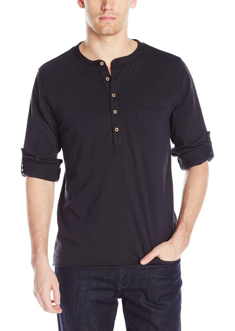 Joe's Jeans Men's Jason Long Sleeve Henley  XL
