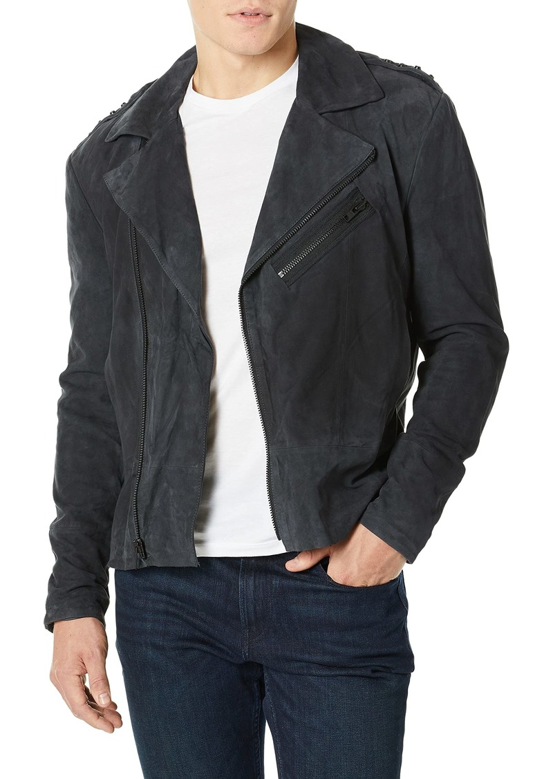 Joe's Jeans Men's Oversized Suede Moto  M