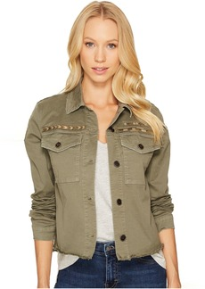 Joe's Jeans Military Crop Jacket