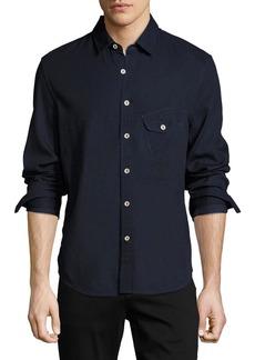 Joe's Jeans Men's Nep Woven Sport Shirt