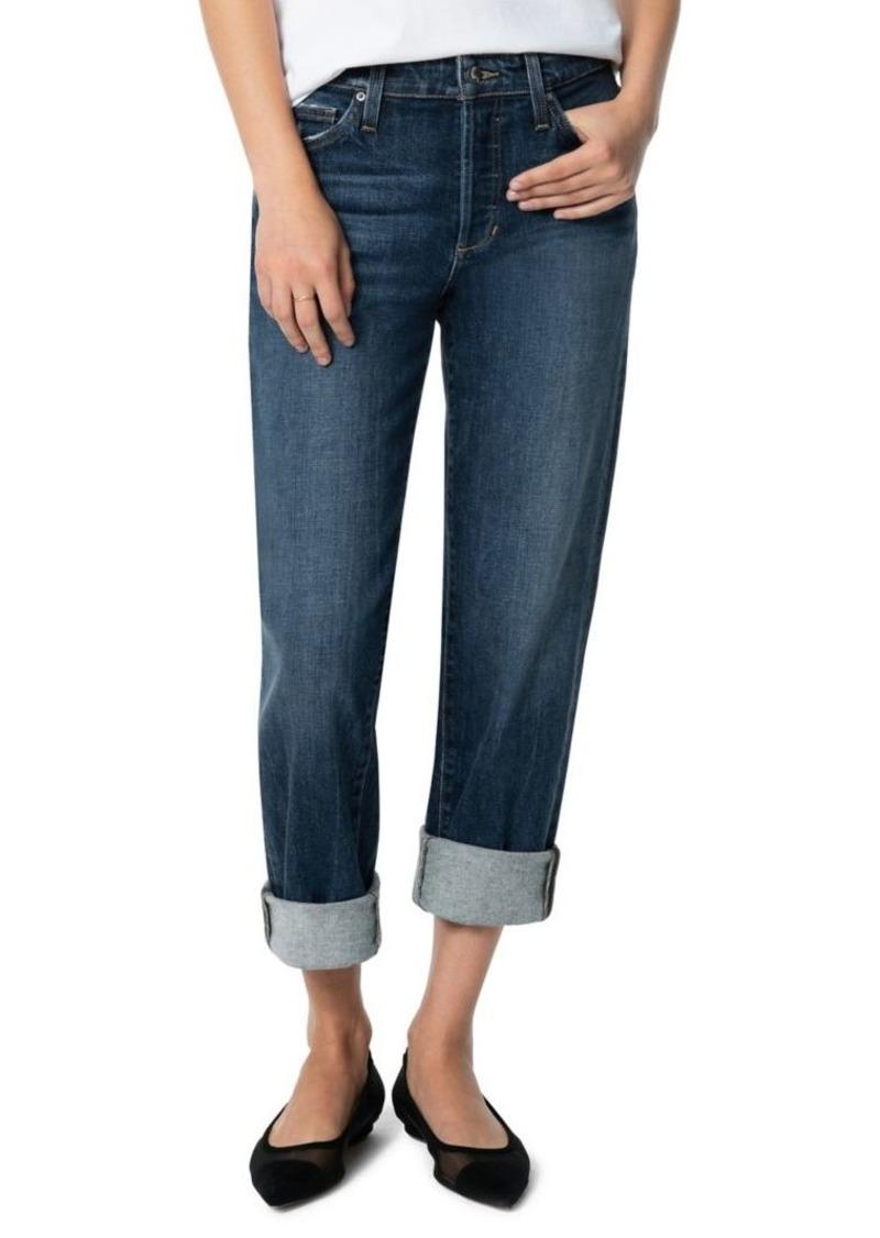 Joe's Jeans Niki Rolled-Cuff Boyfriend Jeans