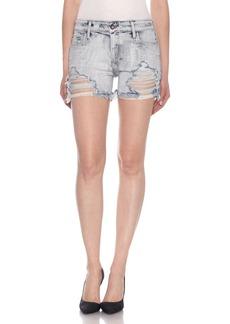 Joe's Jeans Ozzie Destroyed Cutoff Denim Shorts (Petula)