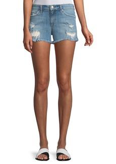 Joe's Jeans Ozzie Distressed Denim Shorts
