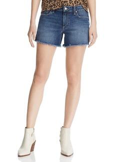 Joe's Jeans Ozzie Frayed Denim Shorts in Alma