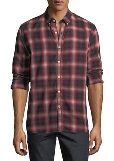 Joe's Jeans Men's Piper Plaid Sport Shirt