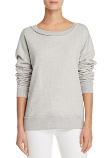 Joe's Jeans Piya Shredded Sweatshirt