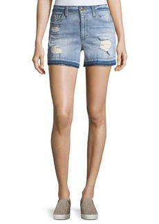 Joe's Jeans Released-Hem Denim Shorts