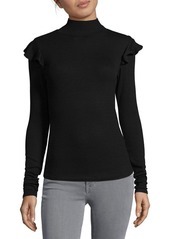 Joe's Jeans Rib-Knit Turtleneck Top
