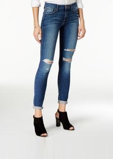 Joe's Ripped Cuffed Skinny Jeans