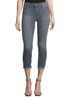 Joe's Jeans Rolled-Cuff Cropped Jeans