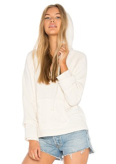 Joe's Jeans Rowen Hoodie in White. - size L (also in M,XS)