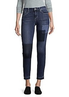 Joe's Jeans Skinny Patch Ankle Jeans