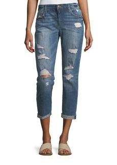 Joe's Jeans Slim Boyfriend Crop Jeans