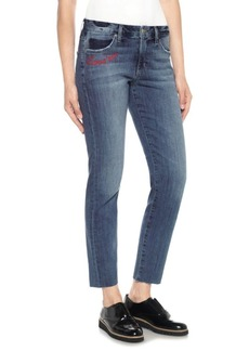 Joe's Jeans Smith Embroidered Straight Jeans