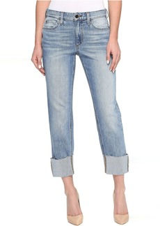 Joe's Jeans Smith Mid-Rise Straight Crop in Perez