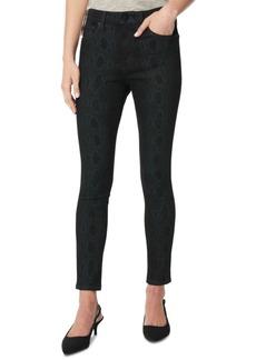 Joe's Jeans Snakeskin Print Skinny Jeans