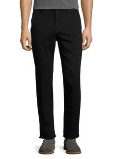 Joe's Jeans Men's Soder Slim-Straight Chino Pants with Cut Hem