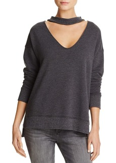 Joe's Jeans Sofie Cutout-Neck Sweatshirt