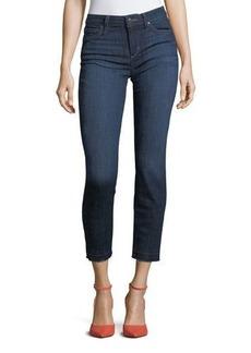 Joe's Jeans Straight-Leg Released-Hem Ankle Jeans