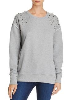 Joe's Jeans Studded-Shoulder Sweatshirt - 100% Exclusive