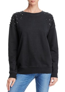 Joe's Jeans Studded-Shoulder Sweatshirt