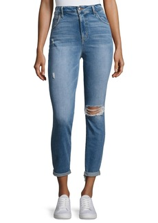 Joe's Jeans The Bella Crop Jeans W/ Raw Hem