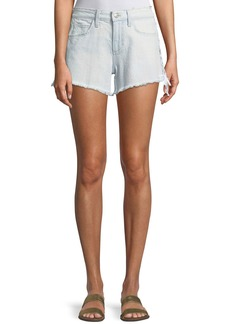 Joe's Jeans The Boyfriend Cutoff Lace-Up Denim Shorts