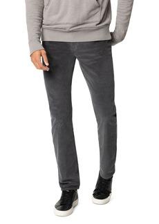 Joe's Jeans The Brixton Slim Straight Corduroy Pants in Asphalt