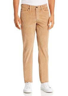 Joe's Jeans The Brixton Slim Straight Corduroy Pants in Tiger's Eye