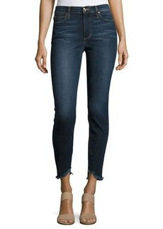 Joe's Jeans The Charlie Ankle Skinny Jeans with Frayed Hem