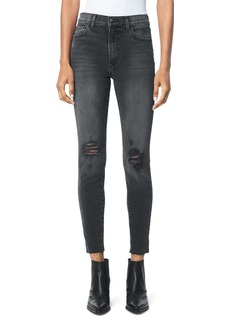 Joe's Jeans The Charlie Distressed Ankle Jeans in Amadeus