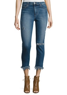 Joe's Jeans The Charlie High-Rise Cropped Skinny Jeans