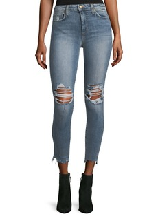 Joe's Jeans The Charlie High-Waist Skinny-Leg Ankle Jeans